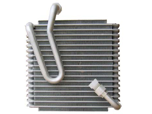 Evaporator fin and  plate